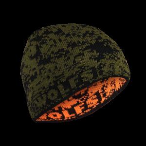Czapka 2WOLFS DEER zielona/pomarańczowa