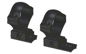 Montaż stały z obejmami 36mm / H=18mm