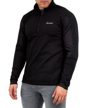 Bluza-golf o właściwościach termoaktywnych 227-BL - Czarny