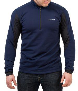 Bluza-golf o właściwościach termoaktywnych 227-BL - Granatowy