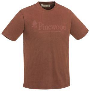 T-SHIRT PINEWOOD® OUTDOOR LIFE 5445 - Ciemno miedziany