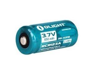 Akumulator 3,7V OLIGHT RCR 123A 650 mAh