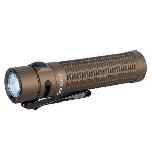 Latarka akumulatorowa OLIGHT WARRIOR MINI Desert Tan - 1500 lumenów